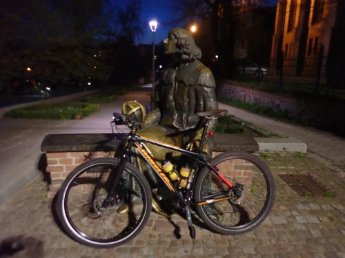 Czy Kopernik jeździł na rowerze?