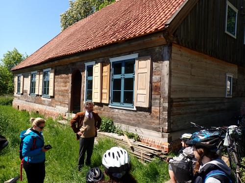 Nowy Dwór Elbląski-spotkanie z właścicielem, Panem Filipem Gawlińskim