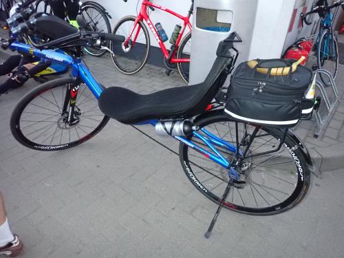 Rowery uczestników: poziomka Marka