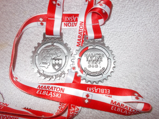 Medal Maratonu Elbląskiego 2021