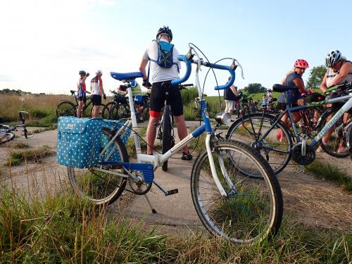 """Rower Marty z cyklu ,,Elbląg Cycle Chic"""" :-)"""