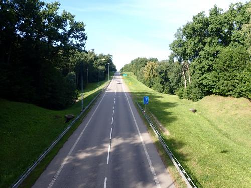 S22 w stronę Elbląga