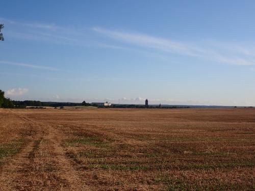 Odległa panorama Pieniężna