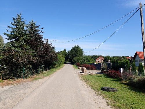Kalinowa w granicach Elbląga ma ładny asfalt