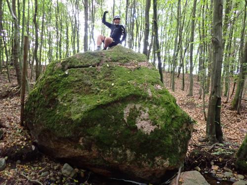 Wielki Kamień z Marcinem zdobywcą :-)
