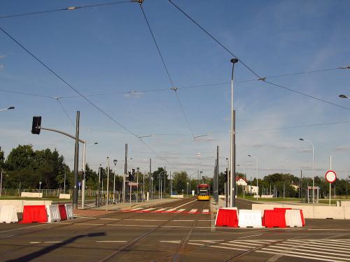 Warszawa. Winnica. Nowa końcówka tramwajowa razem z pętlą klasyczną