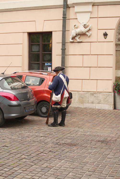...mandat za złe parkowanie...