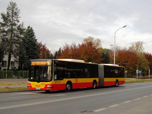 MAN NG363 Lion's City G, #3459, MZA Warszawa