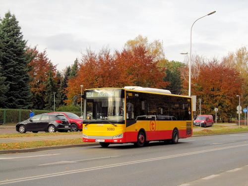 Otokar Vectio C, #9080, Arriva Bus Transport Warszawa